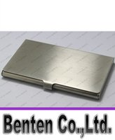 Wholesale stainless steel business high quality mirror name card case personlized logo is available No scratch LLFA