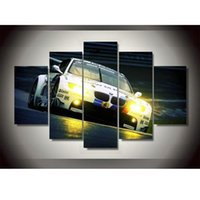 art bmw - New Style BMW Spuer Sports Car Oil Painting Wall Art Paintings Home Decoration Poster Printing On Canvas Unframed