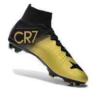 anniversary ankles - 2016 Mercurial Superfly CR7 anniversary Soccer Shoes Soccer Boots Cleats Laser Men shoes Soccer Shoes Football Shoes