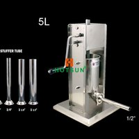 Wholesale L Commercial Manual Sausage Stuffer Two Speed Stainless Steel Meat Press Filler