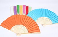 bamboo supplier - 2016 Hot sell China good supplier Fancy colorful beautiful promotion bamboo hand fan