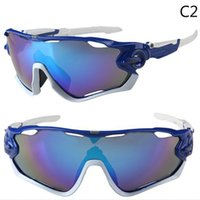Wholesale Cheap Bicycle Glasses - cycling sunglasses jawbreaker men cycling eyewear uv400 10 colors bicycle goggles cheap bike glasses