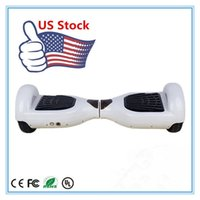 adult electric scooters - 6 inch Two Wheels Self Balancing Wheel Smart Hoverboard Electric Scooter Smart Skateboard for Adult Outdoors Scooters USA Warehouse