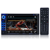 Wholesale New Inch A Double Din Car DVD Player DIVX DVD VCD CD USB Bluetooth Auto Multimedia Player Din MP5 Audio Player Remote Controller