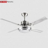 Wholesale New Fashion modern quiet ceiling fans with lights Diameter cm lamp W Fan W really no voice