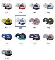 Wholesale Cap Republic - New Fashion Top Quality 13 Colors California Republic Snapbacks Cap Hip Hop Baseball Caps Adjustable Snapbacks For Mens and Womens