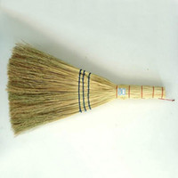 Wholesale In business broom sweeper classic broom broomcorn broom sorghum better for sanitation school site can sample processing cm