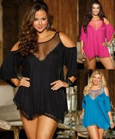 baby doll lingeries - plus size sex lingeries baby doll Big yards pajamas sexy interest appeal nightgown exotic toy adult game Halter dress sleepwear