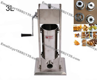 Wholesale Commercial Use L Manual Hand Home Spanish Churrera Churro Maker Churreras Churros Machine with Nozzles