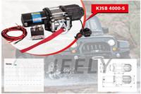 atv winch controls - V LB ATV UTV WD Electric Winch With Wireless Remote Control