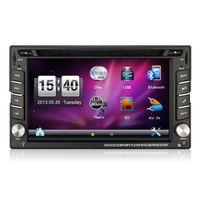achat en gros de gps tv grimacer-Hot Selling Wince 6.0 tactile capacitif 6.2 pouces 2Din voiture lecteur DVD GPS pour Universal GPS Radio Bluetooth RDS Free Map