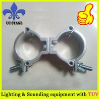 Wholesale aluminum swivel pipe clamp clamp hook light duty clamp fastener dj light clamps