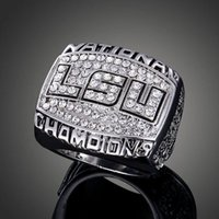 best man rings - High Quality Heavy Solid LSU Tigers National Championship Ring Sport Fan Best Gift Men Jewelry