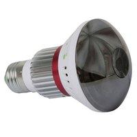 Eazzy BC-783M HD720P miroir WiFi ampoule P2P IP caméra réseau avec sortie de lumière blanche télécommande + capteurs d'alarme sans fil