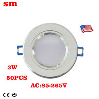 Wholesale 2016 bright W SMD patch CE US Cm warm white cool white LED downlight AC85 V