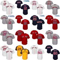 Wholesale Youth Brock Holt Blake Swihart Jackie Bradley Jr Mookie Betts Boston Red Sox kids Baseball Jersey stitched