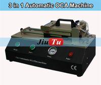 automatic laminator - Jiutu OCA Laminating Machine With in Build in Vacuum Pump OCA Polarizing Film Automatic Laminator For Smartphone LCD Screen Repair
