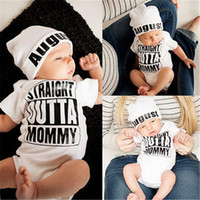 Wholesale Hot sale kids White Newborn Baby Girl Boy Clothes Bodysuit Romper Jumpsuit Outfits One pieces M