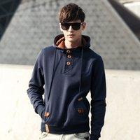 baseball fleece pullover - M L XL Men s Running sweater hooded sweater for men baseball uniform sweater set Q