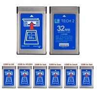 Wholesale DHLHottest MB CARD FOR GM TECH2 for Opel ForGM SAAB ISUZU Suzuki Holden original gm tech2 mb card MB Memory GM Tech Cardi