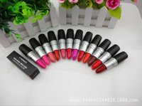 Wholesale 2016 FrostSexy lipstick Lipstick HOT NEW M Makeup Luster Lipstick Frost Lipstick Matte Lipstick g colors lipstick with free DHL