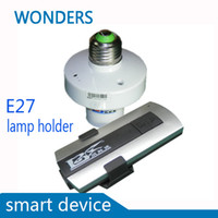 Wholesale New smart device E27 lamp holder V Wireless ON OFF Lamp Remote Control Switch Receiver Transmitter way ways ways
