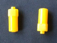 Wholesale Yellow Heparin Cap Bulk Packing LifeCare Yellow IN Stopper Heparin Cap Male luer lock connector Medical IV Plastic Products ISO13485