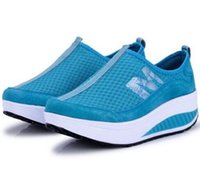 Wholesale Athletic Sneakers Women Outdoor Mesh Breathable Shoes women sneakers network mesh women running shoes breathable gauze shoes