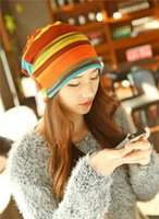 Wholesale Dual Purpose Scarf Hats Men And Women Autumn And Winter Knitting Confinement Set Head Cap Korean Outdoors Fashion Earmuffs Keep Warm Heap Ca