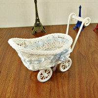 art storage cart - Cart carrying basket placed basket of fine arts and crafts gift cosmetics Wicker Basket Storage Rattan mm