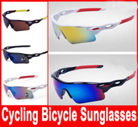 Cheap New Cycling Glasses Bike Sports Driving Fishing Sunglasses Motorcycle Sports Eyewear Fashion Sunglasses Goggles 9181 Hot Selling