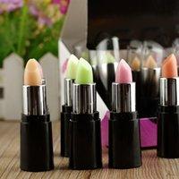 Wholesale Lip Balm Green Change Color To Red Lipstick Magic Color Color Lipstick Moisture Anti aging Protection Lip Balm Lip Color