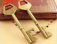 big objects - A3683 MM Antique Bronze Retro big key pendant antique objects DIY handmade jewelry accessories vintage key charm metal key bulk