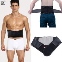Wholesale New Big Discount Hot Adjustable Belt Lumbar Back Waist Support Brace Double Banded