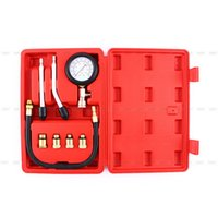 automobile garages - Multipurpose Engine Cylinder Compression Tester Kit Automobile Pressure Gauge For Cars Motorcycle Garage Tool