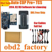 Wholesale 2016 Release3 Auto CDP Pro for Cars Trucks Generic Auto tcs cdp pro com Bluetooth cdp pro with car cables DHL