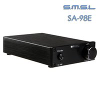 Wholesale SMSL SA E High end Super HIFI Audio Digital Power Amplifier AMP With Original High Power Adapter Black Fast Ship From US