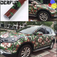 air bombs - Car styling Truck Body Rear view Mirror Decal Snow White Camo Vinyl Film Wrap Air Bubble PVC Stickers Bomb CAMO Camouflage