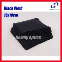 Wholesale gsm Neddle Black White Grey Color x10cm Sunglass Lens Phone MP4 MP5 Small Size Microfiber cleaning cloth