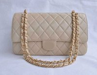Wholesale 2016 stylish lattice design PU Leather Silver gold hardware skin flap Handbag Shoulder Bag oblique cross package