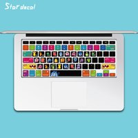 Wholesale Laptop Skin Decals Keyboard Skin Cover Decal Sticker Protector for Macbook retina air13