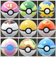 Cheap 8-11 Years Poke Ball Anime Toys Best Unisex Collectible Cartoon Pocket Monsters