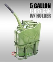 Wholesale W Holder Military Green NATO Style Gallon L Jerry Can Gas Fuel Steel Tank Tough Steel Construction