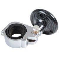 Wholesale Universal Adjustable Steering Wheel Handle Assister Aid Knob Ball for Cars Vans Black Carbon Fiber ball manufacturer