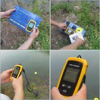 Wholesale High quality outdoor Portable Fish Finder Sensor Depth Sonar Sounder Alarm Transducer Fishfinder m