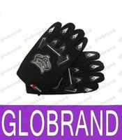 Wholesale NEW HOT Bicycle Bike Full Finger Cycling Gloves Pad Mesh w Gel pair GLO498
