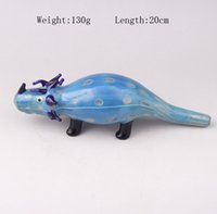ankylosaurus dinosaur - 2016 New Arrival Dinosaur Style Glass Pipes Tobbacco Pipes Ankylosaurus Outlook Colorful Smoking Pipes
