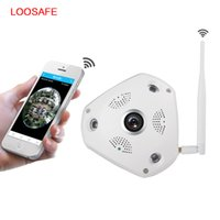 Wholesale LOOSAFE Degree VR Panorama Camera HD P Wireless WIFI IP Camera Home Security Surveillance System ONVIF Hidden Webcam CCTV