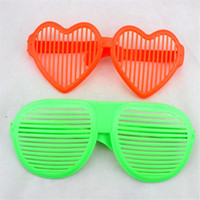 Wholesale Fashion Extra Large Glasses Super Large Shutter Sun Glasses Shades Costume Party Carnival Dance Club Party Decor Blind Window Glasses