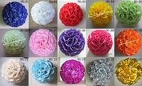 Wholesale HOT artificial flowers balls for decoration wedding kissing rose Colors option cm quot easter crafts